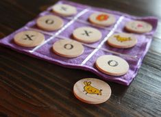 Memory gamesare such a great teaching tool, but they're also good for quiet time play. I made him this set for Christmas, but you can buy re...