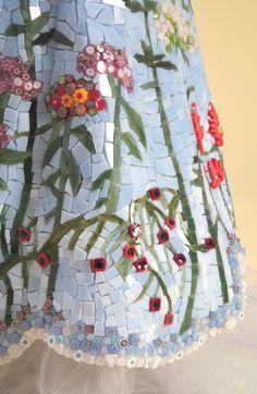L'Ambasciatrice detail -Julie Richey Mosaics