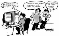 """Очень познавательно! ;) Я знал, как валидировать email-адрес. Пока не прочитал RFC  http://habrahabr.ru/post/274985/    Это корректные email-адреса!  """"Abc\@def""""@example.com """"Fred Bloggs""""@example.com """"Joe\\Blow""""@example.com """"Abc@def""""@example.com customer/department=shipping@example.com \$A12345@example.com !def!xyz%abc@example.com _somename@example.com  Ну-ка, прогоните их через ваш любимый валидатор. Ну как, много прошло?"""
