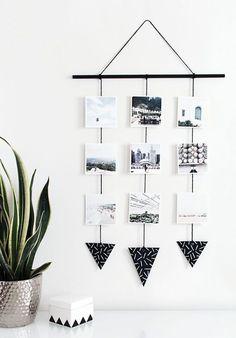 diy instagram art on domino.com #BedroomIdeas