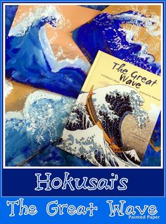 PAINTED PAPER: The Great Wave