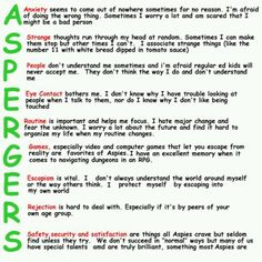 About aspergers syndrome