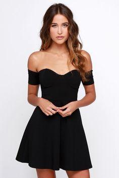 Vestidos de coctel en negro