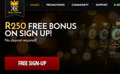 Kings Chance online casino is a new no deposit ZAR casino in South Africa. New SA casino players joining get a free no deposit casino bonus of + Match bonus on 5 deposits in welcome bonuses Online Casino Reviews, Top Online Casinos, Online Casino Bonus, Play Casino, Casino Games, No Strings Attached, Top Casino, Free Sign, King