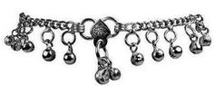 """Hippie Jingle Bells Anklet  Jingle all the way, every day with our hippie style jingle bells anklet / bracelet. 24 jingle balls on this approximate 10"""" long silver anklet that can also be worn a s a bracelet. One of our most popular summertime accessories. Great to wear at festivals! #sunshinedaydream #hippieshop"""