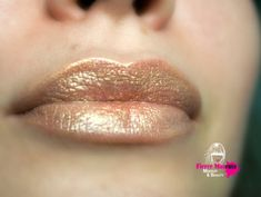 Gold Lipstick Nourishing  Gold Rush  All Natural by FierceMagenta, $8.00