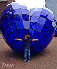 Blue Heart in Delft