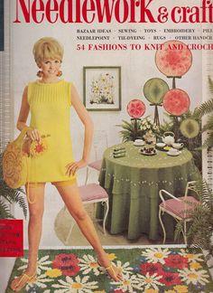 Spring Summer 1968 McCall's Needlework & Crafts Magazine Sewing Embroidery #v2team #newvintagevertigo