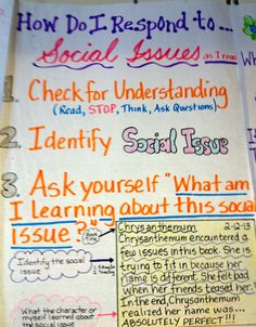 Responding to social issues, Murdock Elementary, Marietta, GA.