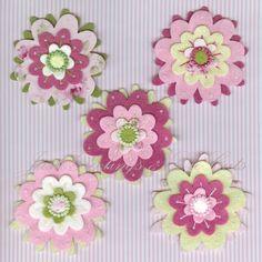 Felt Flower Embellishments -