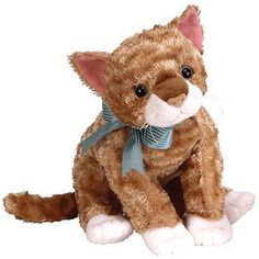 Retired 19207: Ty Beanie Buddy - Mattie The Cat (11 Inch) - Mwmts Stuffed Animal Toy -> BUY IT NOW ONLY: $31.25 on eBay!