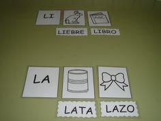 "Actiludis: Letra ""L"". Asociación imagen sílaba Lectoescritura"