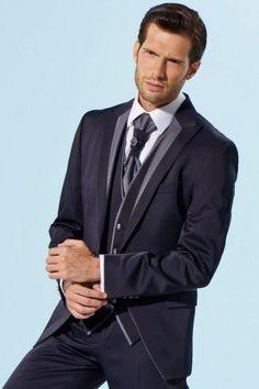 m64-luxusny-pansky-oblek-svadobny-salon-valery Suit Jacket, Suits, Jackets, Fashion, Down Jackets, Moda, Fashion Styles, Suit, Jacket