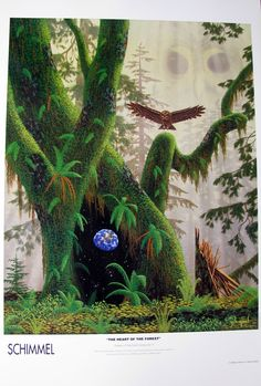 The Heart of the Forest, poster. Schim Schimmel.