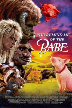 SO GREAT!!! What babe? Babe with the power. What power? Power of who do, you do. Do what? Remind me of the babe!