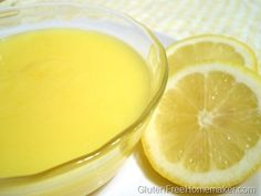 Lemon Curd – Gluten and Dairy Free