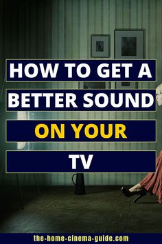 Is the sound on your TV lacking? Maybe you can't hear the dialogue very well? Learn about the best equalizer settings for your TV & find out ways to improve the sound. Home Theater Sound System, Home Theater Setup, Hi Fi System, Audio System, Life Hacks Computer, Computer Maintenance, Tv Connect, Line Tv, Internet Router