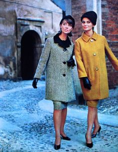 Magdorable!: Elegant designs by Krizia, photos Elsa Haertter, Grazia (Italy) 3 November 1963