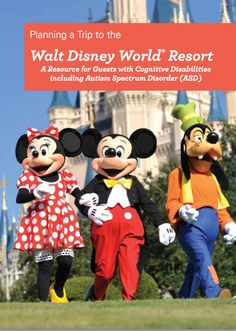Disney's PDF guide for people on the autism spectrum - includes ride times, where to take breaks, etc.