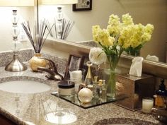 1000 Images About Bathroom Counter Decor On Pinterest Bathroom Counter Dec