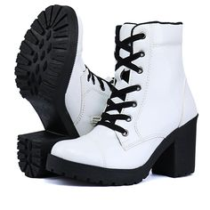 Girls Fashion Clothes, Fashion Shoes, Tv Show Outfits, Gothic Shoes, Melissa Shoes, Sneaker Heels, Cute Boots, Black Ankle Boots, Me Too Shoes