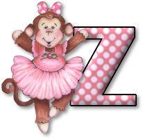 Alphabet ballerina