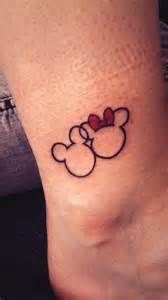 Mickey & Minnie Mouse tattoo | We Heart It | minnie mickey and mouse
