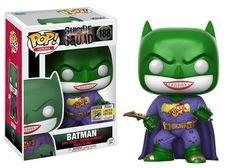 From DC's Suicide Squad, it's Batman Joker Suit in Funko Pop Vinyl! Summer Convention Exclusive Limited Edition Product dimension in windowed box Age Le Joker Batman, Joker Pop, Batman Hero, Funko Pop Batman, Funko Pop Marvel, Joker And Harley, Joker Suit, Batman Stuff, Pop Vinyl Figures