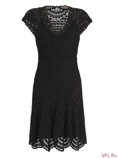 Fabulous Crochet a Little Black Crochet Dress Ideas. Georgeous Crochet a Little Black Crochet Dress Ideas. Crochet Skirts, Crochet Yarn, Crochet Clothes, Clothing Patterns, Dress Patterns, Crochet Patterns, Knit Dress, Dress Skirt, Russian Crochet