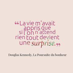 Douglas Kennedy, La Poursuite du Bonheur❤