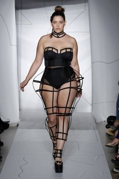 "Plus-Size Model Denise Bidot: ""It's About Time We Represent All Women on the Catwalk"" #curvies @denisebidot #diversity #cosmo"
