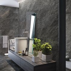 If you're looking for extra large wall tiles, the Buckingham range is a contemporary tile choice offered in various colours including these striking black tiles. These marble effect wall tiles come in shades of grey and black and also feature a wonderful grey pattern tile ideal for feature walls and splashbacks. Buckingham tiles are rectified tiles which means the edges are very straight and grout lines can be very narrow. This is ideal for anyone desiring a more seamless design.