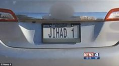 MISSOURI: DMV Allows Personalized 'JIHAD' License Plate for Muslims | Creeping Sharia