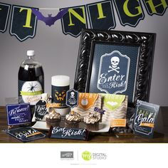 My Digital Studio by Stampin' Up! | Fright Night Ensemble