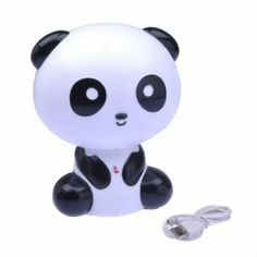 baby pandas Perfect for the little ones or panda enthusiasts! This baby panda night light softly lights up the room making it easy on the eyes, plus who can resist a cute face like that an Night Light, Light Up, Panda Gifts, Animal Body Parts, Cute Faces, Lamp Light, Desk Lamp, Little Ones, Hello Kitty