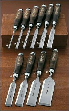 Narex® Classic Bevel-Edge Chisels - Woodworking- Best value currently in a new bench chisel set