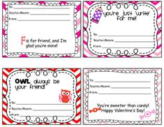 CANDY GRAM Form Valentine Candy Gram Template View ...