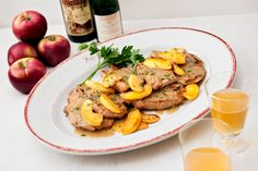 NORMANDY STYLE PORK CHOPS WITH APPLES