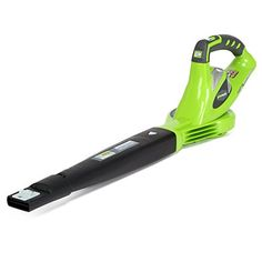 GreenWorks 24282 G-MAX 40V 150 MPH Variable Speed Cordless Blower, Battery and Charger Not Included  High Performance G-MAX 40V Lithium-Ion Battery delivers fade-free power with no memory loss after charging  Variable speed delivers wind speed up to 150 mph, perfect for cleaning debris and leaves off hard surface areas and patios  Additional speed control on Sweeper tip offers better sweeping and gathering capabilities  Lightweight robust design for user efficiency and ease of use  Too...
