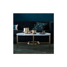 West Elm Marble Oval Coffee Table (830 AUD) ❤ liked on Polyvore featuring home, furniture, tables, accent tables, west elm furniture, slab furniture, marble furniture, marble accent table and marble table