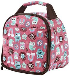 Kids' Lunch Boxes - Fit  Fresh Kids Insulated Gabby Lunch Bag Pink >>> Continue to the product at the image link.