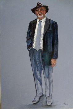 Francisca Louw - Rodney 2012 Oil on canvas
