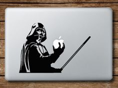 Darth Vader / Star Wars - Macbook (or any surfaces) Vinyl Sticker Decal
