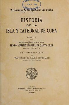 Historia de la Isla y Catedral de Cuba