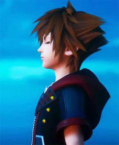 "mysterious-figure: """"Face My Fears "" "" Heart Gif, Heart Face, Sora Kh3, Sora Kingdom Hearts 3, Hearts Rules, Kh 3, Game Pics, Kindom Hearts, Dragon Girl"
