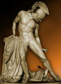 Aquiles: héroe de LA ILIADA. Epopeya de juventud de Homero. Tema central: la nobleza del guerrero.