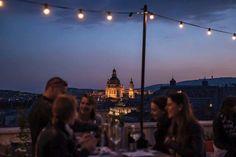 Dívány - Életmód - 5+1 tetőterasz, ha város felett bulizna Budapest, Rooftop, Concert, Travel, Rooftops, Viajes, Concerts, Destinations, Traveling