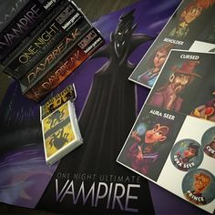 More social deduction fun!  Thanks to Australia Post this one took awhile, but thanks to @beziergames help it's now in our events library. Huzzah! Who doesn't love vampires! #boardgamer #boardgames #tabletop #tabletopgame #tabletopgames #tabletopgamers #bgg #boardgamegeek #juegodemesa #brettspiel #cardgame #cardgames #deduction #beziergames