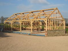Pencombe - Raised #timberframe