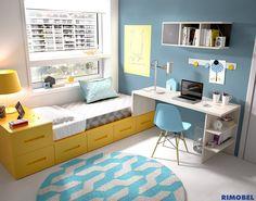 H209 #SystemQB, una nueva forma de crear espacios para dormir, apila, combina como tu quieras by #Rimobel